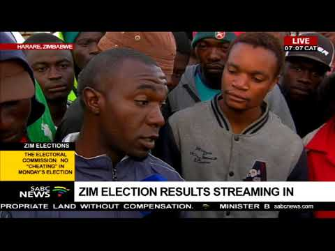 Zim election results streaming in, Zimbabweans react