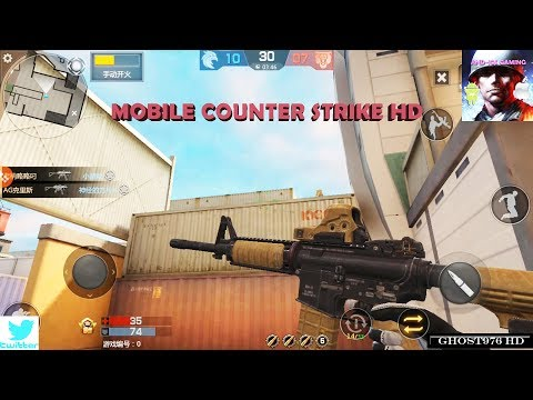 Counter Strike Mobile MOD MULTIPLAYERS-PVP-COOP-WEAPONS REVIEW  2017 (AND-IOS GAMING)