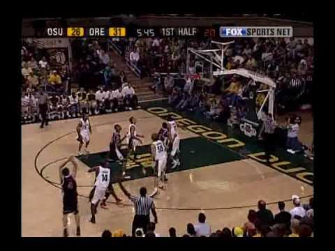 Oregon State Basketball Highlights 2003-2007 Part. 2 - Angelo TSAGARAKIS