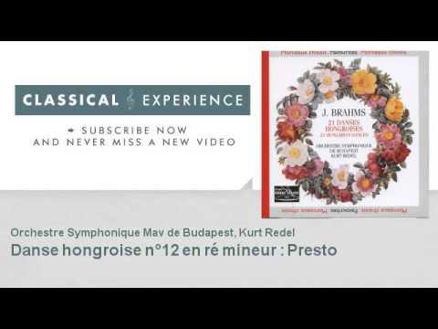 Johannes Brahms : Danse hongroise n°12 en ré mineur : Presto