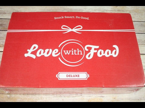 Love With Food February 2017 Deluxe Box Unboxing +Coupons  #lovewithfood