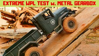 EXTREME TEST | WPL METAL TRANSMISSION | BEST WPL CRAWLER | WPL B1 | RC WITH POPEYE