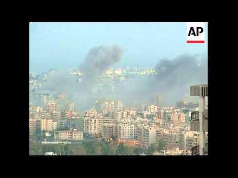 Israeli Airstrikes In South Beirut Suburbs