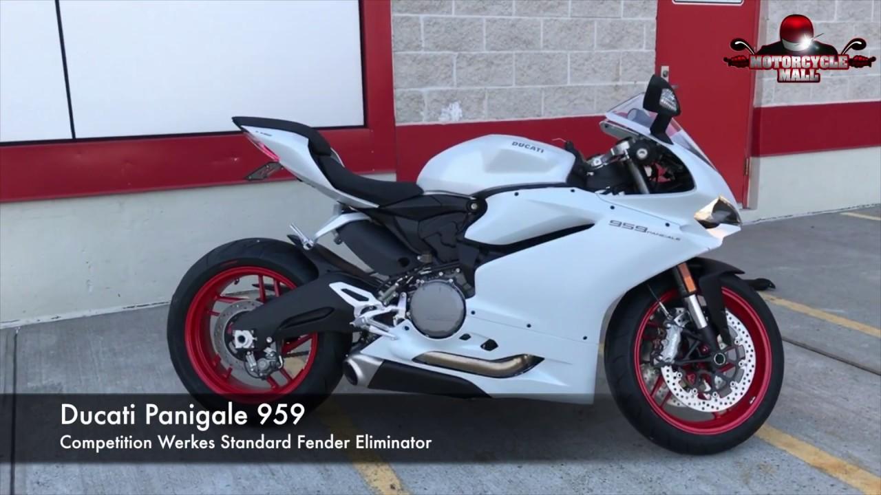 Ducati V Fender Eliminator