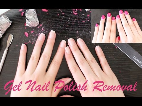 How To: Gel Nail Polish Removal