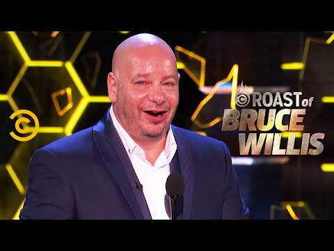 Jeff Ross Takes Bruce Willis to the Cleaners  Roast of Bruce Willis  Uncensored