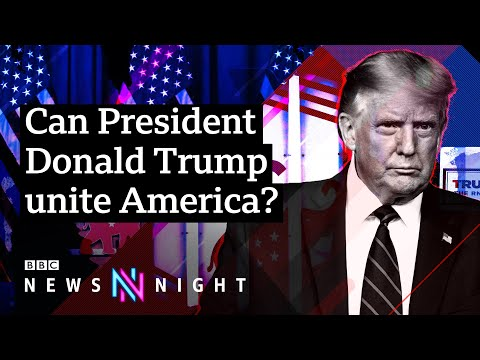 US Election 2020: Can Trump unite America and win a second term? BBC Newsnight