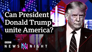 US Election 2020: Can Trump unite America and win a second term? - BBC Newsnight