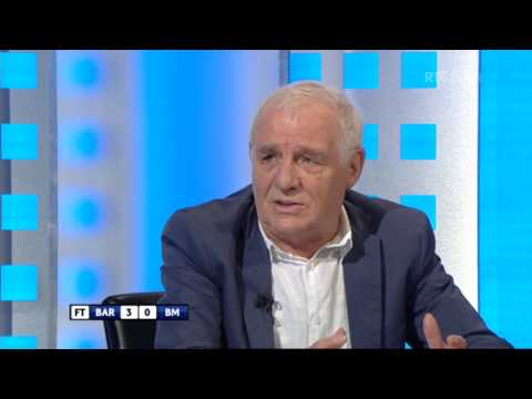"""He's a genius"" - Eamon pays tribute to Lionel Messi 
