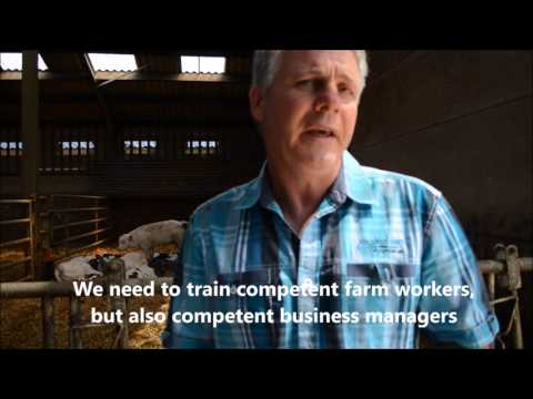 #livestockcounts farm visit and interview with Belgium farmer