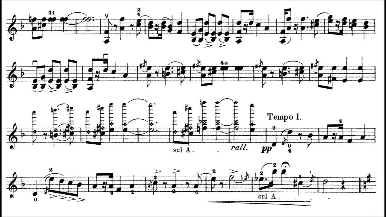 Wieniawski, Henryk Souvenir de Posen op. 3 for violin + piano