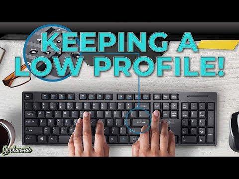 Kensington Pro Fit Low-Profile Wireless Desktop Keyboard And Mouse Review