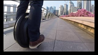Gotway MCM4 (Electric Unicycle) GoPro HD Chasecam Singapore #01