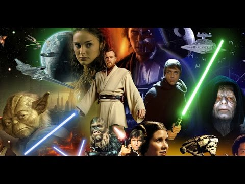 I watched all 6 'Star Wars' films for the first time, in one sitting