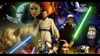 I watched all 6 Star Wars films for the first time, in one sitting
