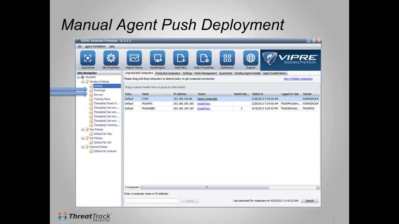 Download How To Deploy VIPRE Business Agents