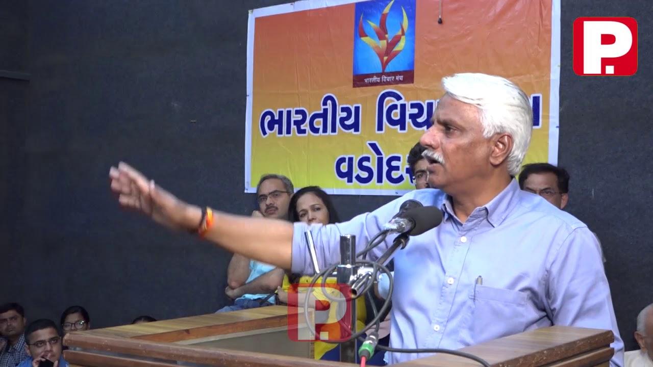 भारत का गृहमंत्री मुसलमान बना,कश्मीरी पंडितों का कातिल:पुष्पेंद्र कुलश्रेष्ठ.