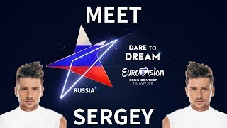 """Road to Eurovision Song Contest 2019: Russia with Sergey Lazarev """"Scream"""""""