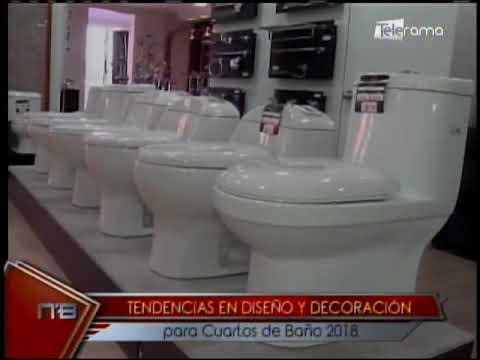 Tendencias en diseño y decoración para cuartos de baño 2018 - YouTube