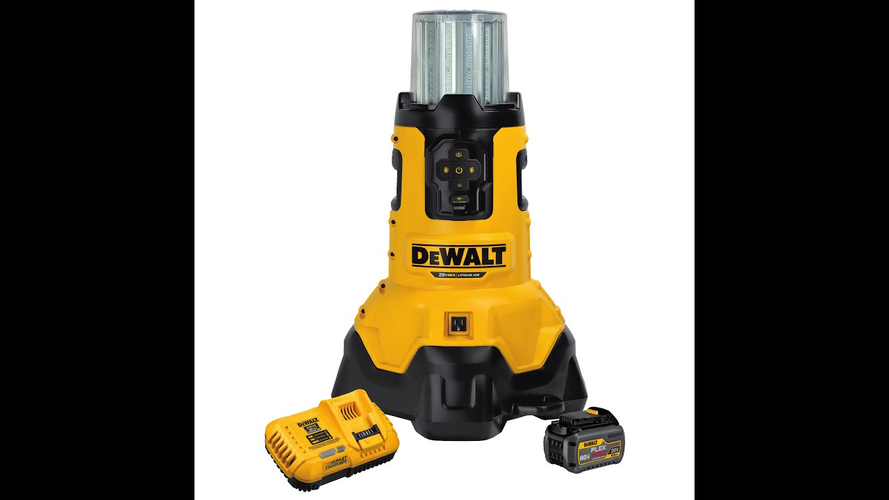 Dewalt 20v Led Bluetooth Large Area Ac Dc Worklight