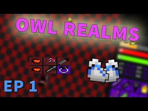 Rotmg - Owl Realms - Custom Items -  Already alot of White Bags - EP 1