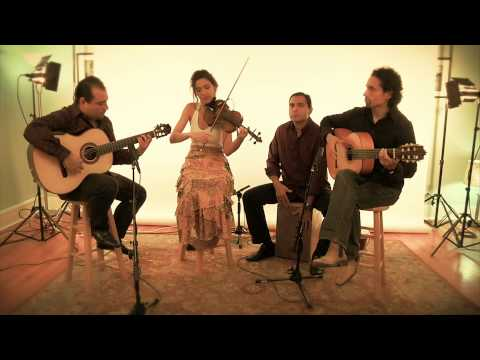 Spanish Guitar Duo with Violin & Cajon