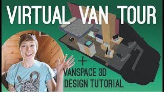 Cover images Beginner Van Design Tutorial using Vanspace 3D   Virtual Van Tour