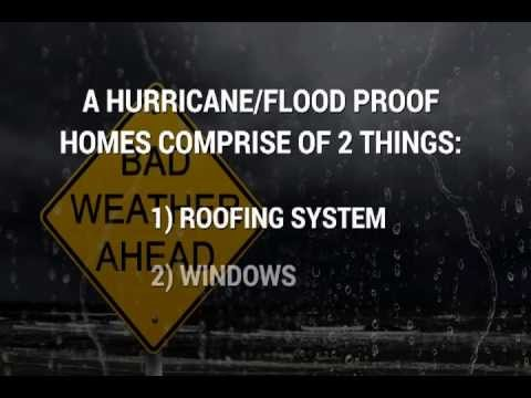 How to Hurricane and Flood Proof your Florida Home