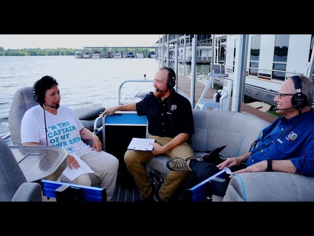 """On a Pontoon"" with Woman Angler Angie Scott - TN WildCast 147"