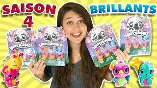 NOUVELLE SAISON 4 DES HATCHIMALS BRILLANTS !!!!