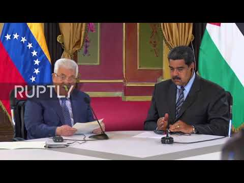 Venezuela: State visit for Palestinian leader Abbas