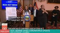 WATCH | Gov. Mike DeWine holds coronavirus briefing