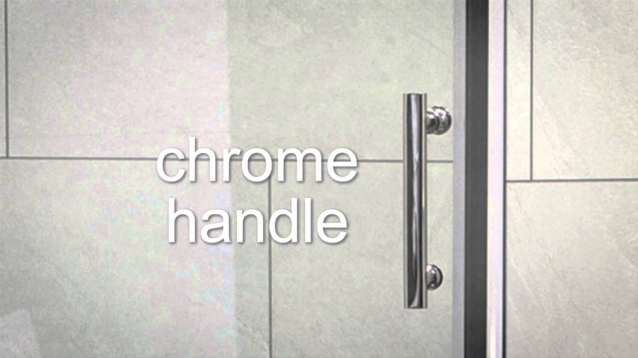 Sonas Bathrooms City Range Pivot Shower Door And Side Panel Youtube