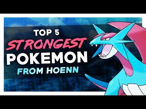 Top 5 Strongest Hoenn Pokemon