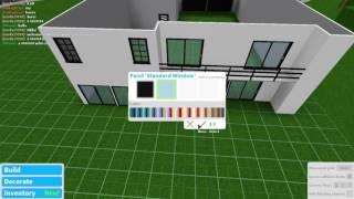 Bloxburg Team 10 house | Speed Build |