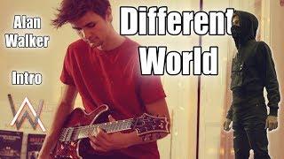 "Gambar cover Alan Walker ""Different World"" Intro - Guitar Remix"