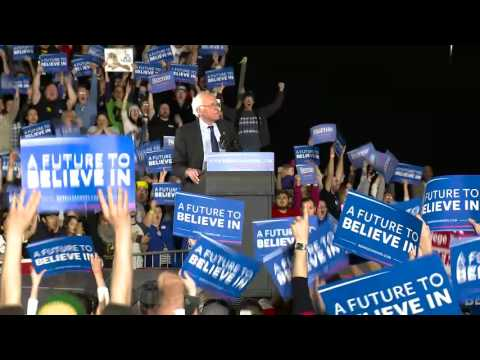 Jane Tells Bernie We Won Washington | Bernie Sanders