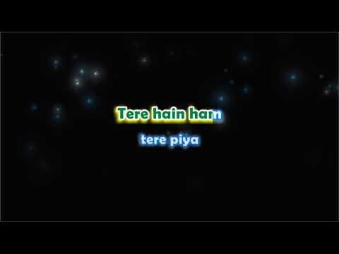 Piya Basanti - Ustaad and Divas - Karaoke with Male Vocals