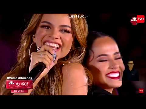 [181201] Leslie Grace Feat. Becky G - Diganle (Teleton Chile 2018) Full Stage