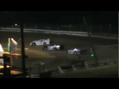 Jackson County Speedway Late Model Highlights 8-12-2011