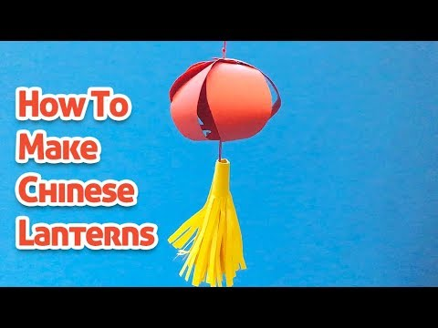 Chinese Lantern- DIY Only With Paper