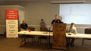 Sheriff Leon Lott talks about racial profiling at Network retreat