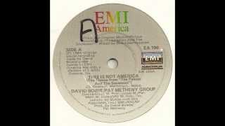 David Bowie & Pat Metheny - This Is Not America (DK This Is England Mix)