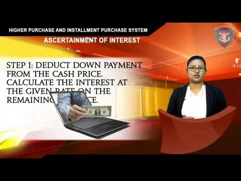 Higher Purchase and Installment Purchase System