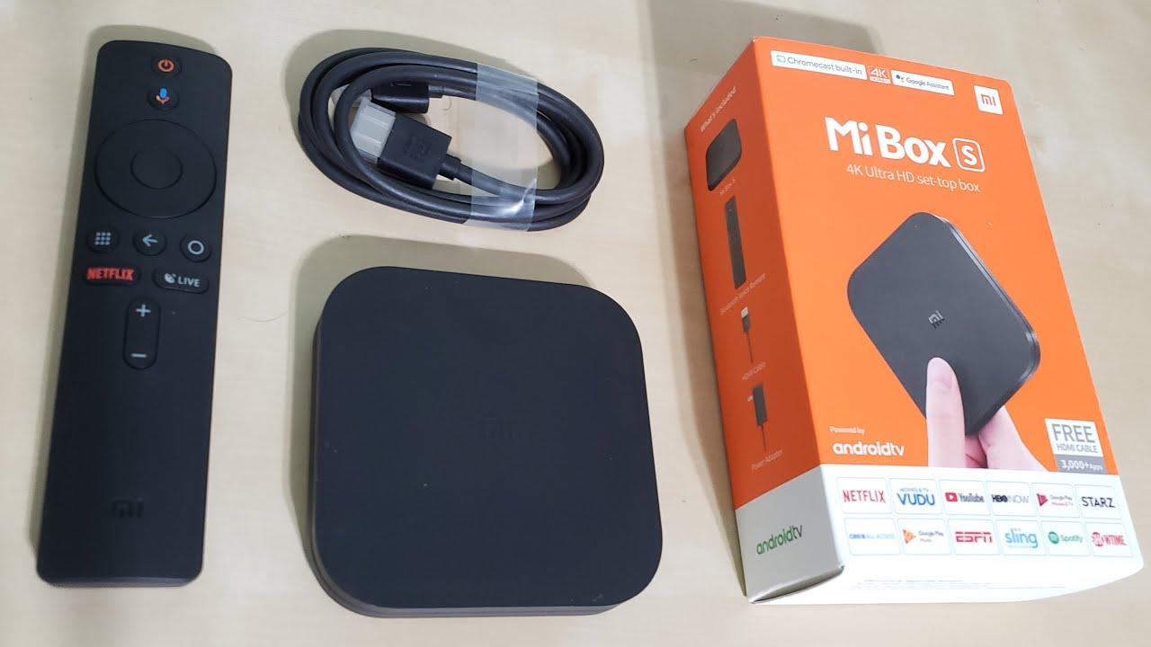 Mi Box S - 4K UHD Streaming Setup box with Built-in Chromcast