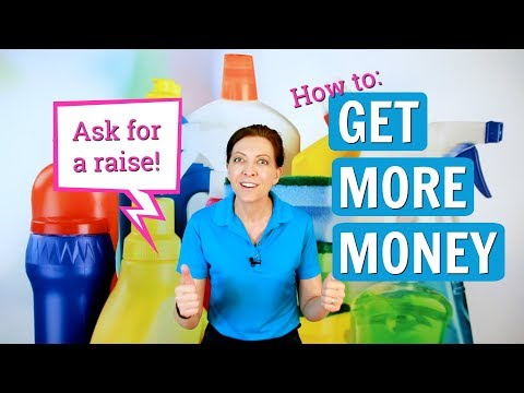 How to Ask for a Raise in House Cleaning