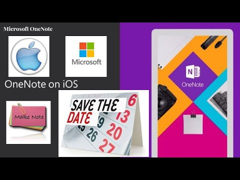 Use Microsoft OneNote on Apple #iOS #apple #Microsoft #OneNote