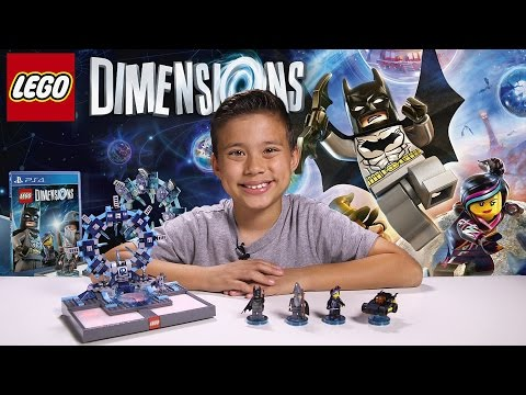 LEGO DIMENSIONS Unboxing + LEGO Gateway Time-lapse Build!