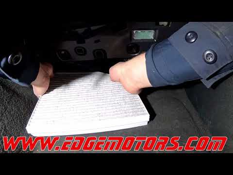 2009 to 2016 Audi A4 Cabin Air Polen Filter Replacement DIY by Edge Motors