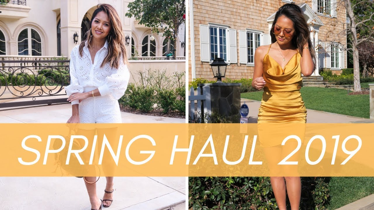 [VIDEO] - Boohoo Spring Haul 2019 2